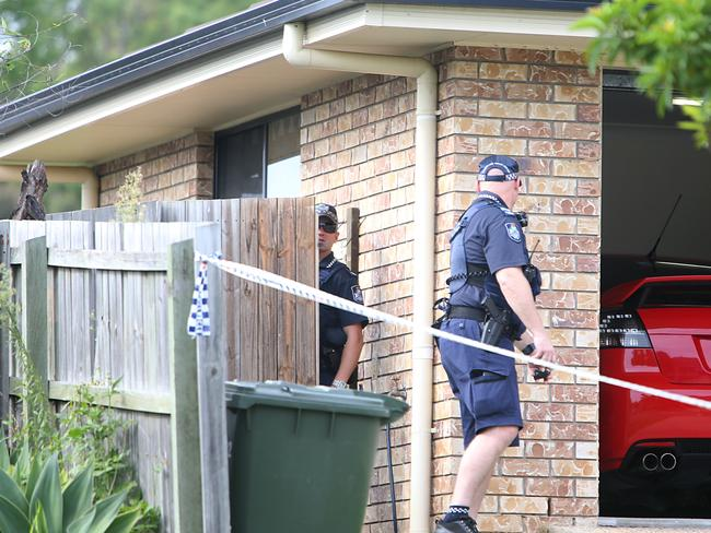 Police found Renee Kuch and Corey Croft's bodies inside their home. Picture: Annette Dew
