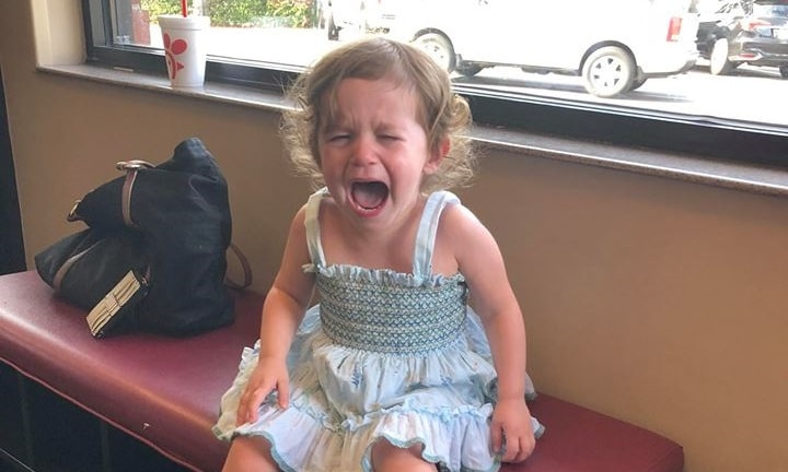 The viral photo that gives mums a new perspective on the terrible twos