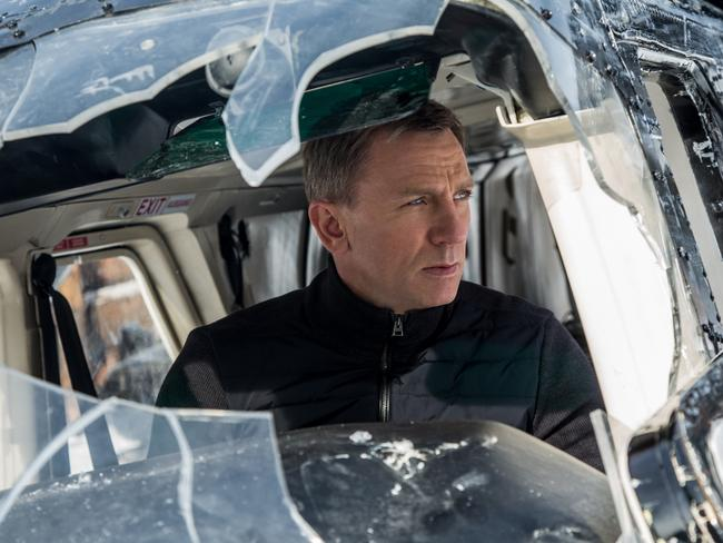 A scene from Spectre. Source: Jonathan Olley/Metro-Goldwyn-Mayer Pictures/Columbia Pictures/EON Productions via AP