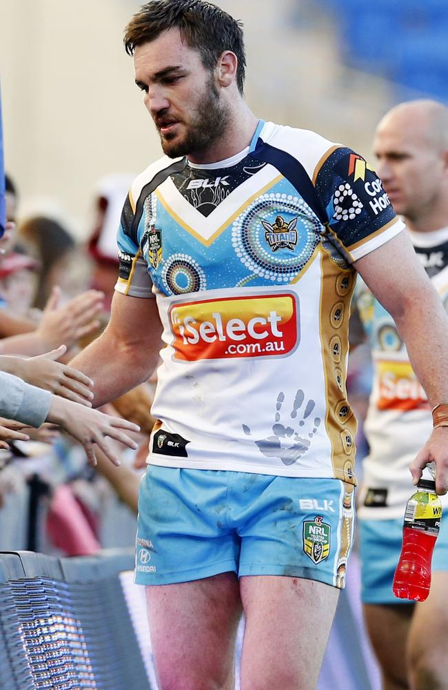 Luke Douglas was a member of Cronulla's 2011 squad, and is serving a ban. Pic: Jerad Williams