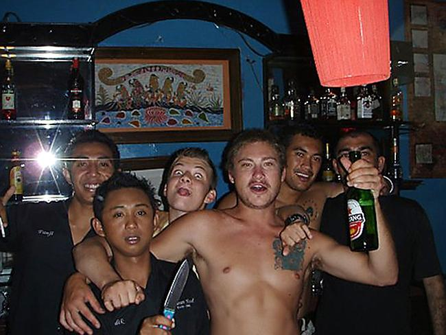 Images from the Facebook page of Matt Christopher Lockley, 27, who was held in an Indonesian police cell after a Virgin pilot set off a hijack alarm on the flight Matt was on to Bali.