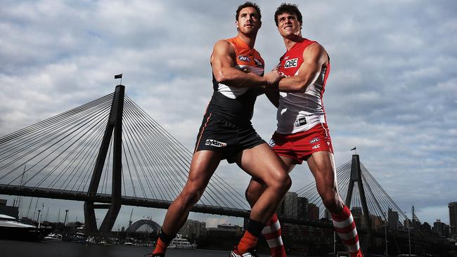 Sydney and GWS have teamed up with Brisbane and Gold Coast. Picture: Phil Hillyard