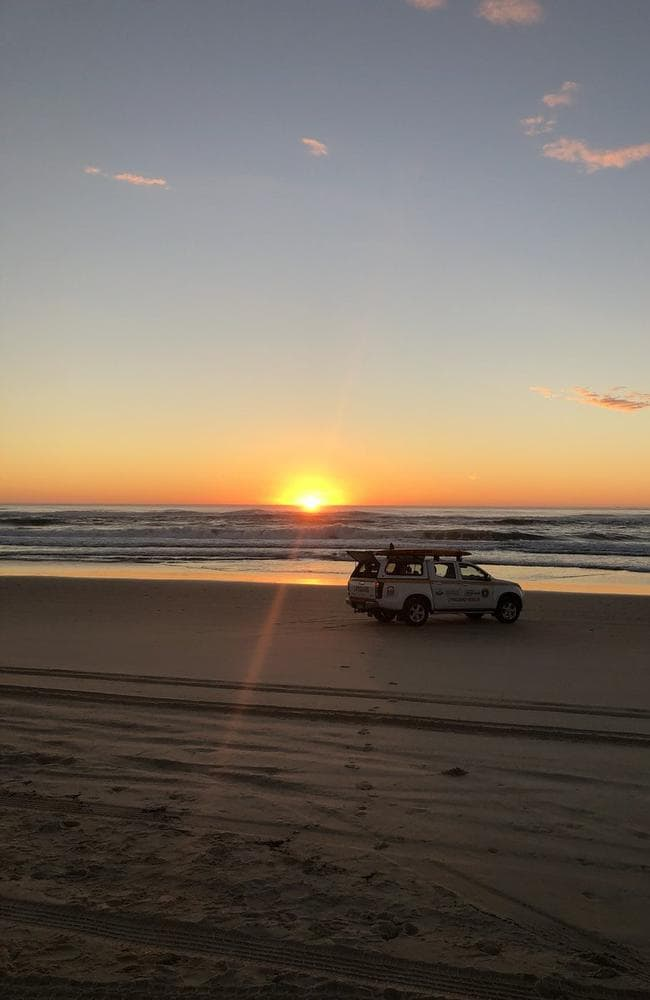 Surf conditions have eased today. Picture: Port Macquarie Lifeguard Service