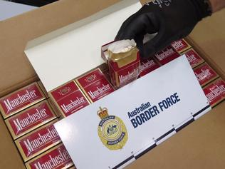 A HAUL of 2.7 million dollars worth of illegal cigarettes has been uncovered in Melbourne. The stash of illicit tobacco was seized following an operation earlierthis month. An organised crime gang with links to the Middle East is believed to be behind the importation of the tobacco. ABF officers uncovered six million illegal cigarette sticks which had been flown in from the United Arab Emirates.