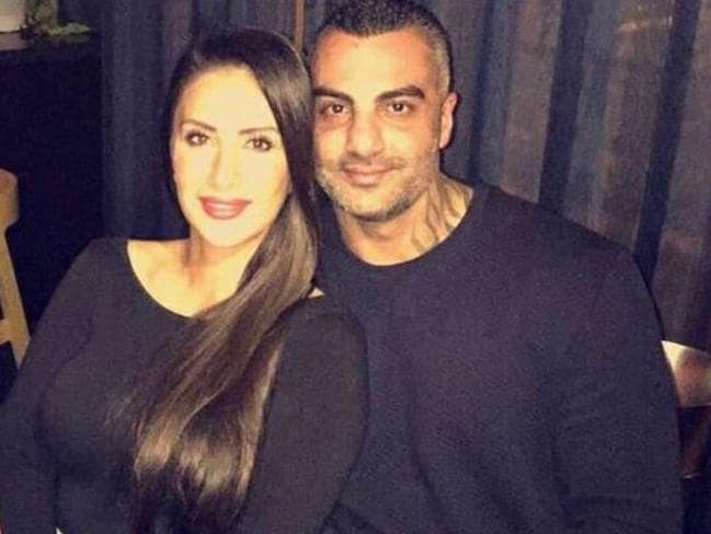 Carolina Gonzalez with husband Mick Hawi in a recent photograph. Picture: Facebook