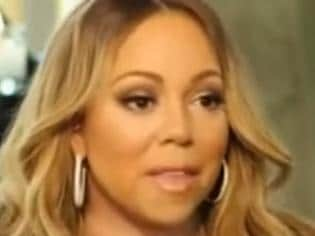Mariah Carey says she's been vilified for her NYE performance.