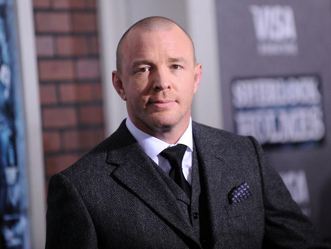 Friends in high places ... Guy Ritchie runs the London film office SKA films.