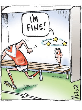 Macca's view on concussion in the AFL