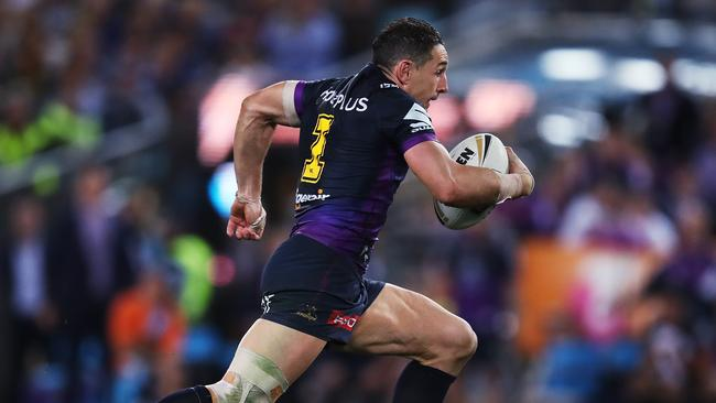 Billy Slater will notch up his 300th NRL game this weekend. Picture: Phil Hillyard