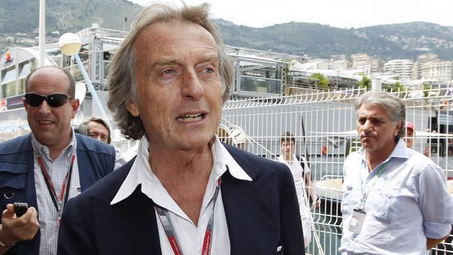 Ferrari president Luca Cordero di Montezemolo is fed up with F1 rules.