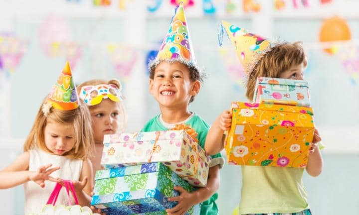 'Fiver parties' are the latest kids' birthday party trend