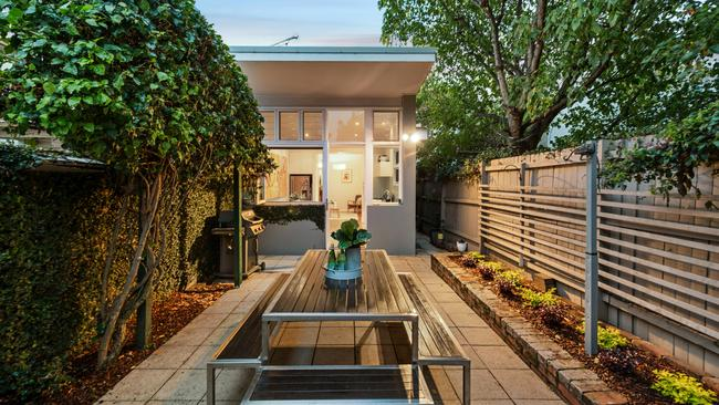 The Erskineville terrace has a price guide of $1.35 million.