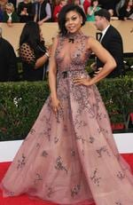 Taraji P. Henson attends The 23rd Annual Screen Actors Guild Awards at The Shrine Auditorium on January 29, 2017 in Los Angeles, California. Picture: Getty