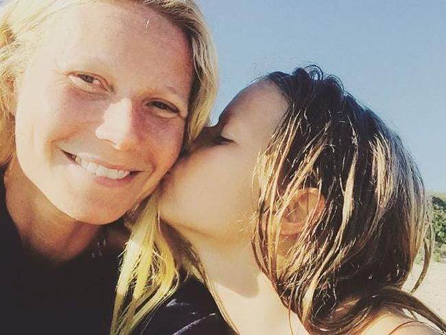 Paltrow regularly shares snaps with her daughter on social media. Picture: Instagram