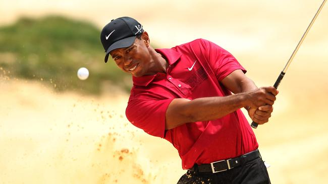 Tiger Woods played the 2011 Australian Open at The Lakes.