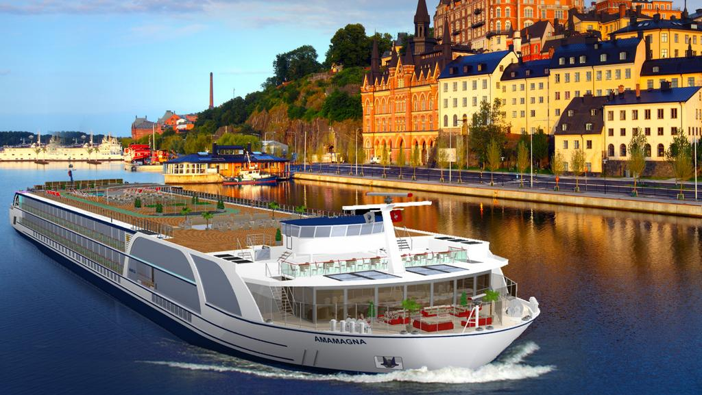 Cruise News Amamagna The Ship Set To Change Danube River