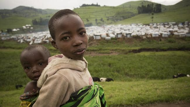 It is extremely difficult for aid workers and journalists to get access to the Democratic Republic of Congo and help refugees.