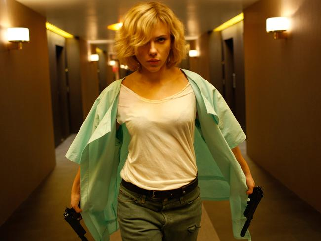Johansson's character is transformed from a nightlife-loving expat student into an icily efficient assassin.