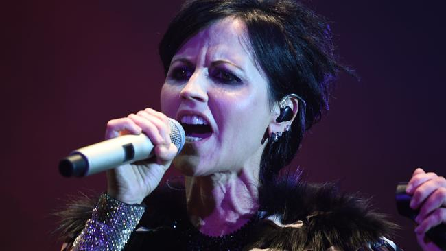 O'Riordan died aged just 46, devastating music fans worldwide. Picture: AFP