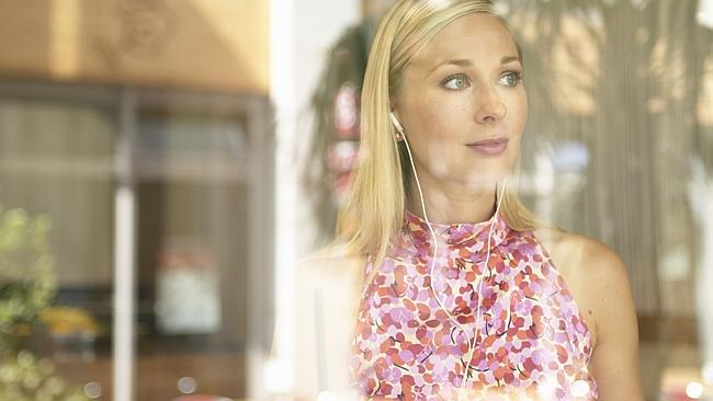 Easy listening ... Microsoft is working on earbuds that monitor the wearer's mood and pick a song based on their...