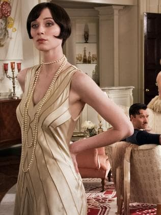Elizabeth Debicki as Jordan Baker in a scene from The Great Gatsby.