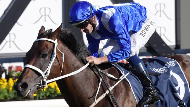 Winx is likely to start the shortest price of her career in the Warwick Stakes this weekend.
