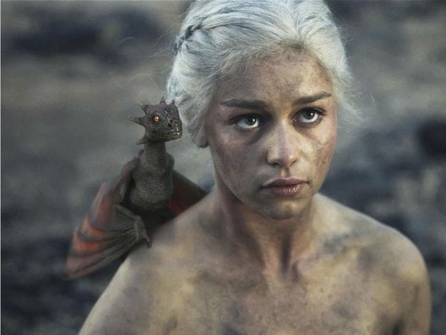 Mother of dragons ... and plot lines. Daenerys Targaryen with one of her fiery brood. So just how plausible is a dragon anyway?