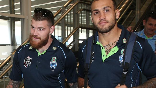 Josh Dugan and Blake Ferguson copped a lot of flak for an Origin drinking session this year.