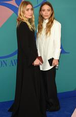 Ashley Olsen and Mary-Kate Olsen attend the 2017 CFDA Fashion Awards at Hammerstein Ballroom on June 5, 2017 in New York City. Picture: Dimitrios Kambouris/Getty Images