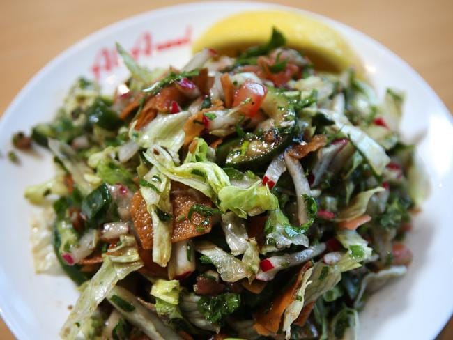 Fatoush Salad at Al-Aseel.