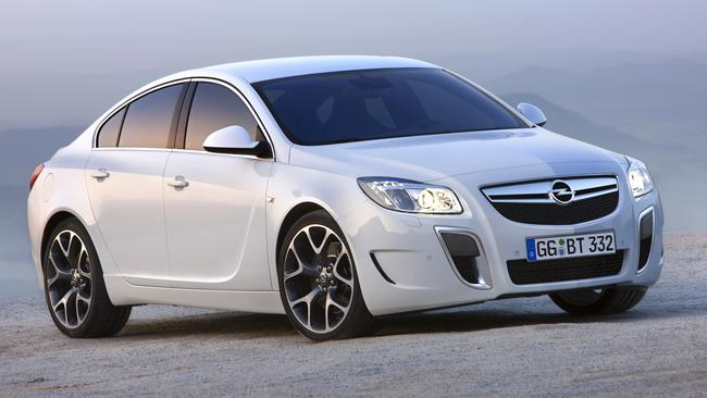 The current Holden Insignia VXR is slower than a Toyota Aurion V6. The next model will be quicker, but not as fast as today's Commodore SS, say insiders. Picture: Supplied.