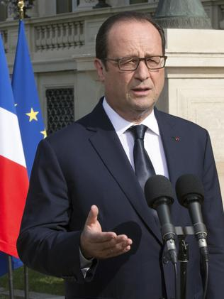 Defence deal a stumbling block ... French President Francois Hollande Picture: Philippe Wojazer