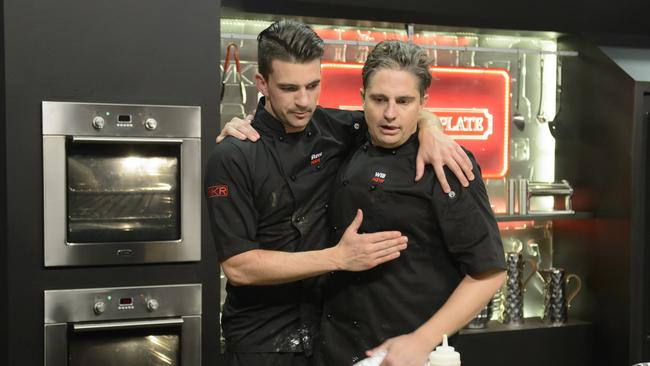 Mkr My Kitchen Rules Winners Are Will Stewart And Steve