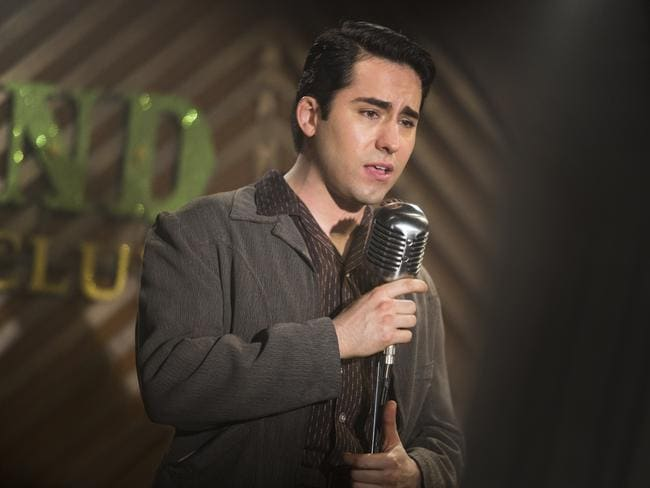 John Lloyd Young, who won a Tony Award for playing Valli on Broadway, hits high notes with his singing and his acting. Picture: Warner Bros/Village Roadshow