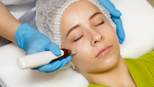 What's a few needles for good skin... Image: iStock