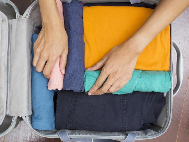 Stick with stuff you will definitely use — not stuff that would be good to have, just in case. Picture: iStock