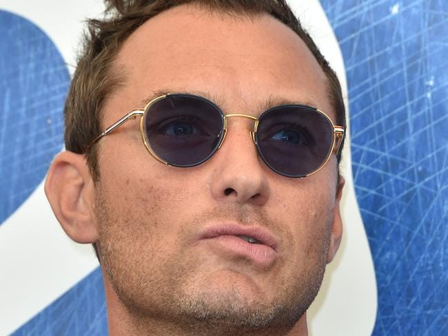 Jude Law is one of Scarlett's former lovers. Picture: Getty.