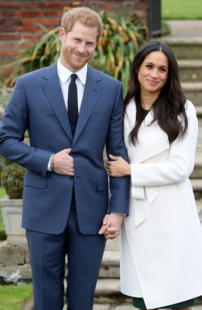 "Prince Harry said he knew Markle was ""the one"" the first time he met her. Picture: Chris Jackson/Getty Images"