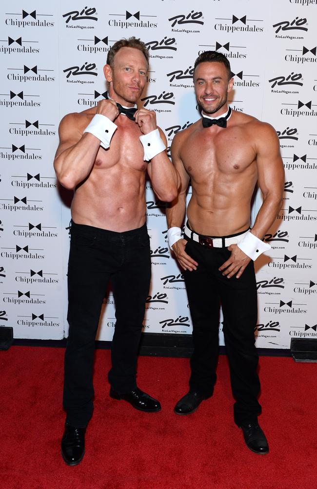 Ian Ziering and Ryan Stuart / Picture: Bryan Steffy