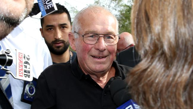 Roger Rogerson is arrested at his Padstow home over the murder of Jamie Gao.