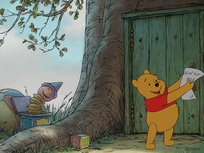 Ridiculous ... Councillors insisted Winnie the Pooh was an inappropriate role model for young children because he was a hermaphrodite. Pic: Disney Enterprises, Inc.