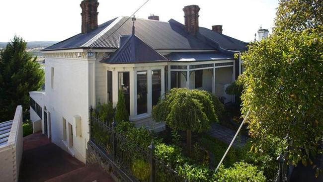 This property in Launceston, Tasmania has three bedrooms, two bathrooms and a 3 car garage. Picture: Elders Real Estate.