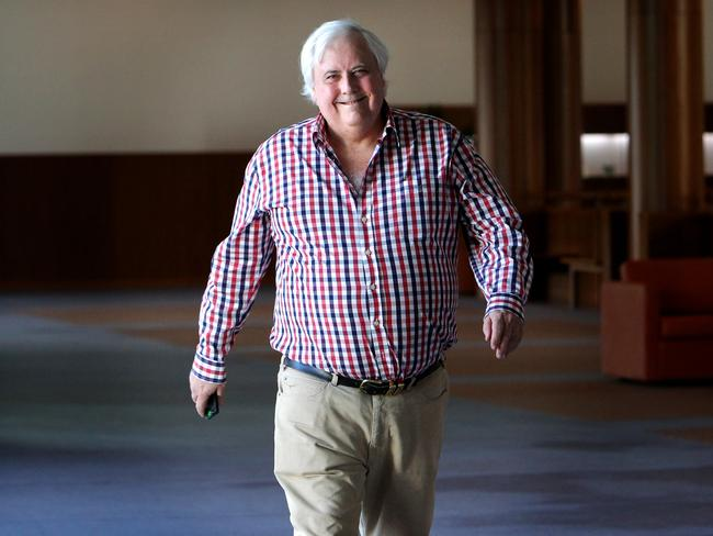 PUP leader Clive Palmer. Picture: Kym Smith