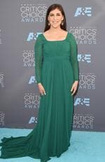 Mayim Bialik attends the 21st Annual Critics' Choice Awards on January 17, 2016 in California. Picture: Getty