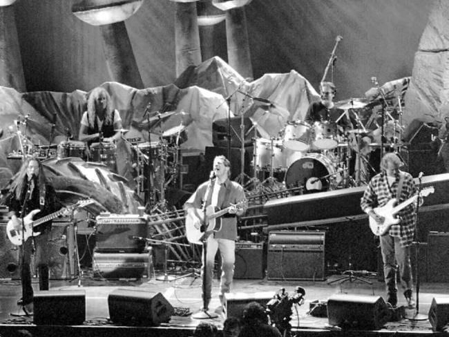 The Eagles played together for the first time in 14 years in May 1994 at Irvine, California.