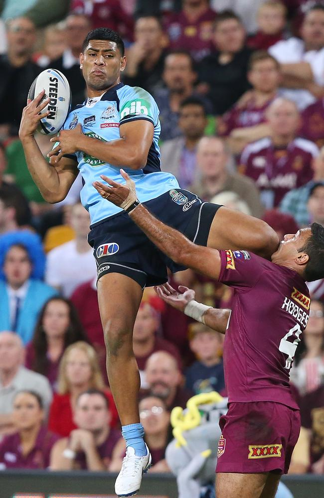 The Blues will try to use Daniel Tupou's leaping ability in game two.