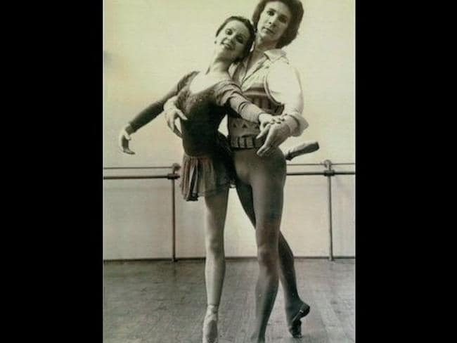 Robin Thomson, believed to be the Somerton Man's son, with fellow dancer and wife Roma Egan