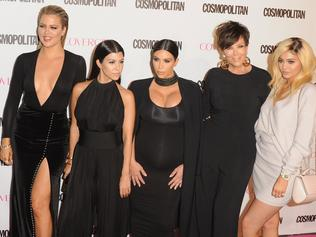 WEST HOLLYWOOD, CA - OCTOBER 12: Khloe Kardashian, Kourtney Kardashian, Kim Kardashian West, Kris Jenner and Kylie Jenner arrive at Cosmopolitan Magazine's 50th Birthday Celebration at Ysabel on October 12, 2015 in West Hollywood, California. (Photo by Jon Kopaloff/FilmMagic)