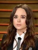 Actress Ellen Page attends the 2014 Vanity Fair Oscar Party. Picture: Getty