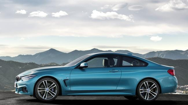 Sleek profile: the BMW looks best in blue. Pic: Supplied.
